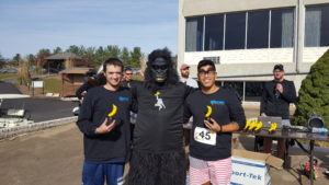Brian and Zach take 5th place at the AS5K on November 7, 2016.