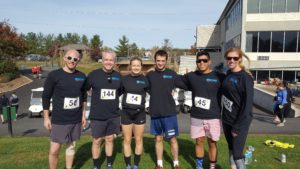 Members of the ECHO Cardio Team at the AS5K on November 7, 2016.